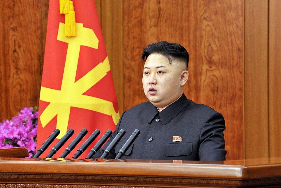 «Nous devons effectuer un virage radical afin de... (Photo: AFP/KCNA via KNS)