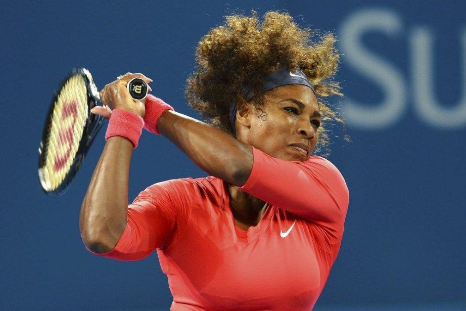 Serena Williams... (PHOTO WILLIAM WEST, Agence France-Presse)