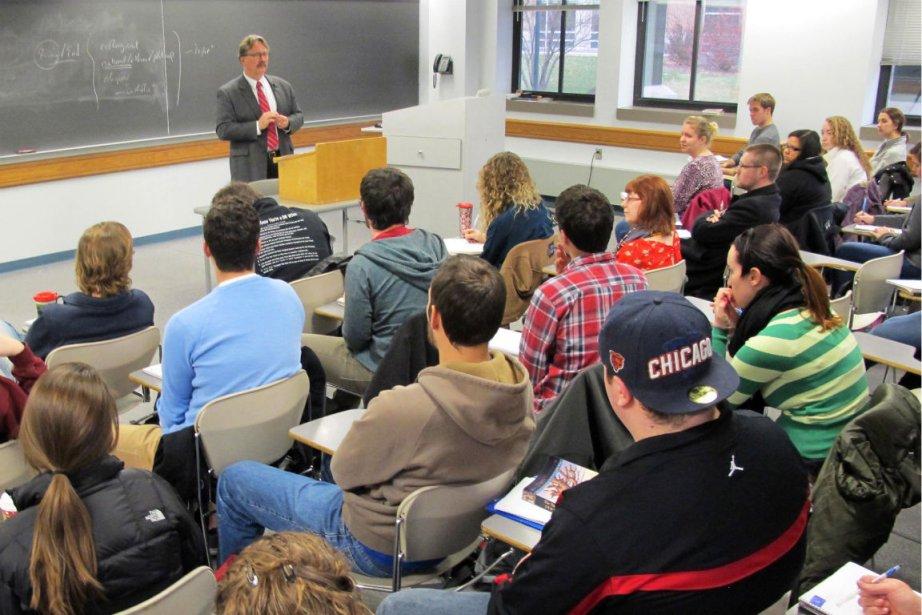 «C'est le meilleur cours que j'ai eu en... (Photo Carrie Antlfinger, Associated Press)