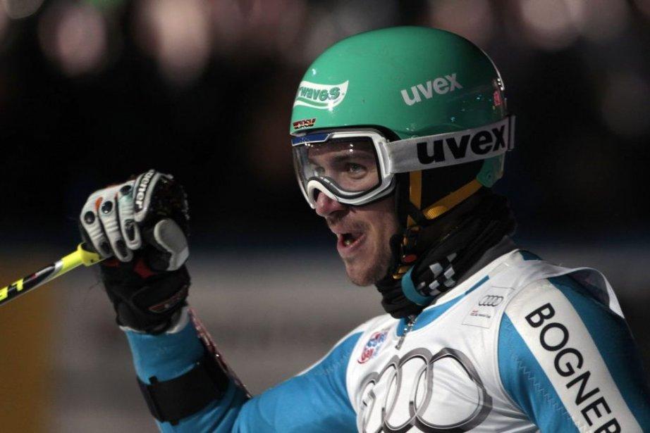 Feliz Neureuther, deuxième du slalom parallèle de Moscou... (Photo Michaela Rehle, Reuters)