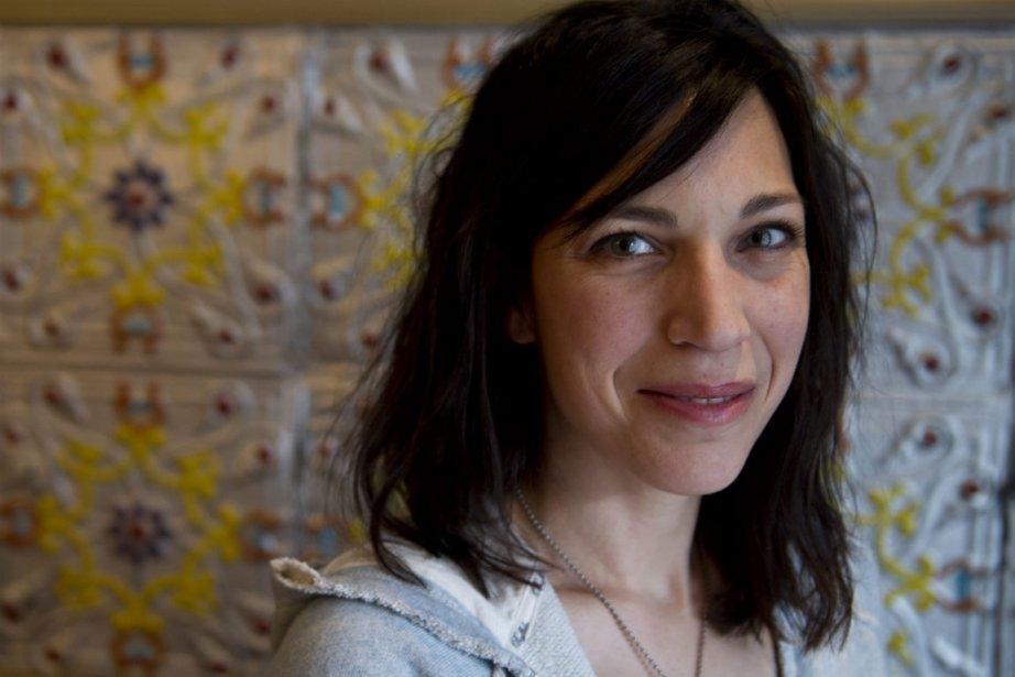 Evelyne de la Chenelière... (Photo Paul Chiasson, La Presse Canadienne)
