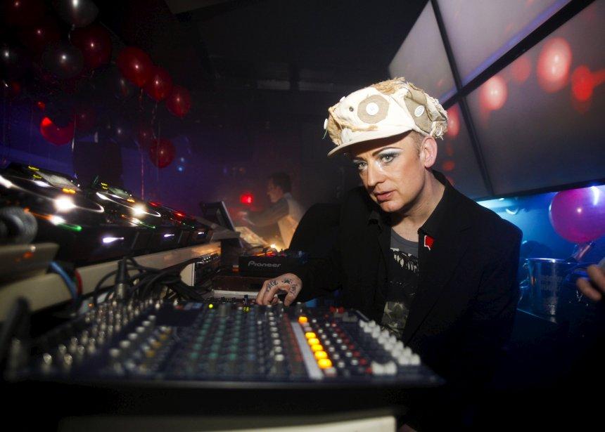 DJ Boy George a poursuivi la soirée au bar le Maurice. | 2 janvier 2013