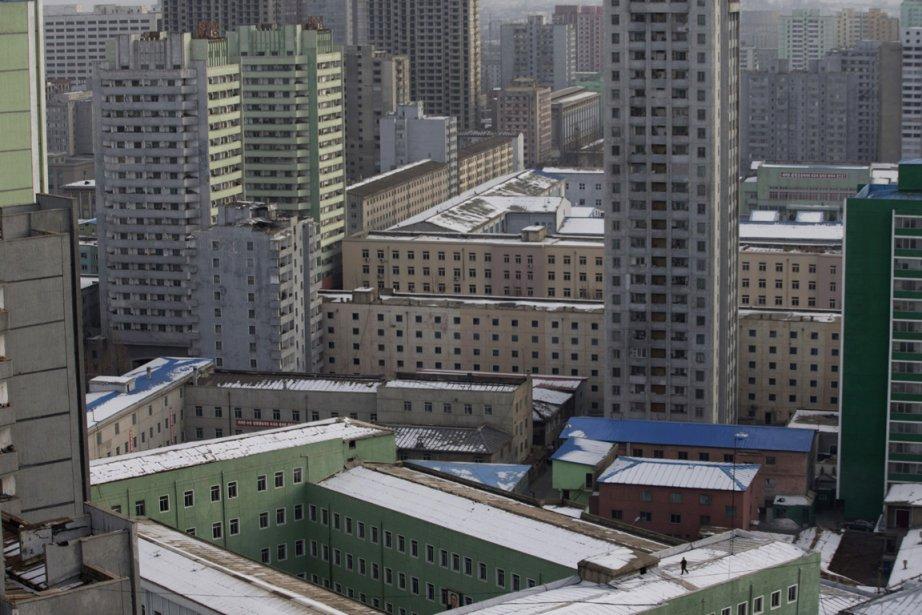 Complexes résidentiels de Pyongyang | 3 janvier 2013