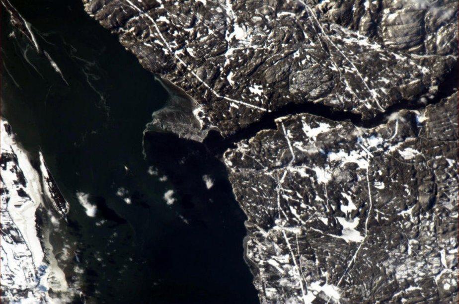 L'estuaire du Saguenay à Tadoussac | 3 janvier 2013