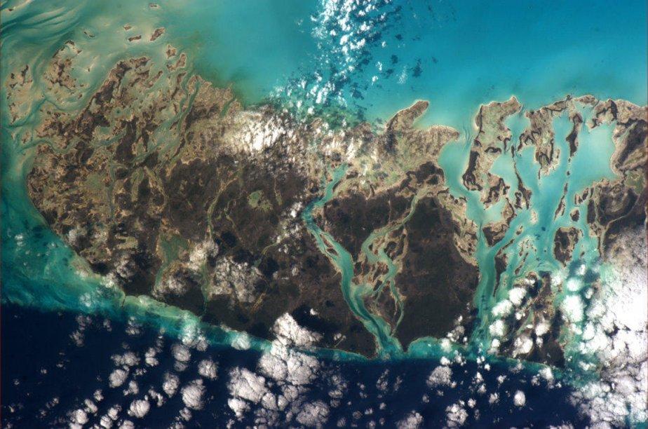 L'ile d'Andros  dans les Bahamas. | 3 janvier 2013
