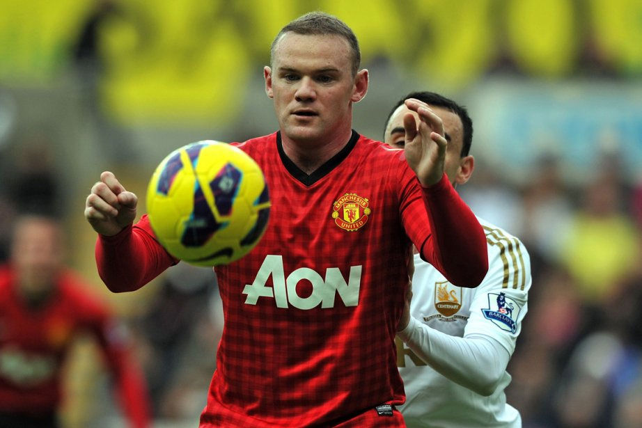 Wayne Rooney... (Photo : archives AFP)