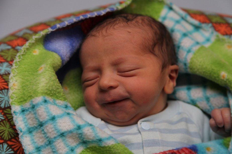 Logan, premier bébé à avoir vu le jour en 2013... | 2013-01-04 00:00:00.000