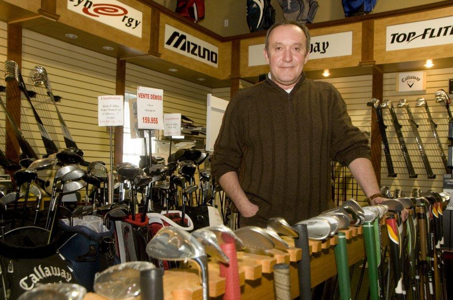 Le professionnel de golf Richard Labonté, décédé le lundi 31 décembre au terme d'une longue bataille contre le cancer. | 4 janvier 2013