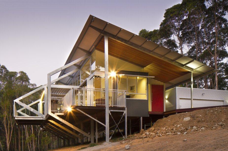 La maison Tinbeerwah, complétée en septembre 2012 par la firme... | 2013-01-07 00:00:00.000