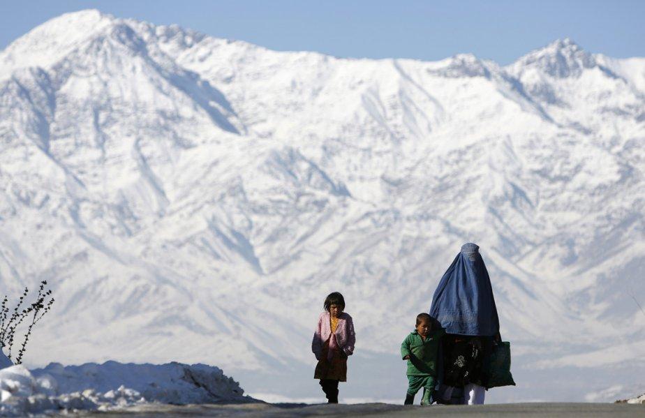 La route de Kaboul en hiver. | 7 janvier 2013