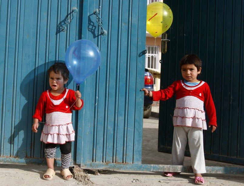 Des enfants à Kaboul. | 7 janvier 2013