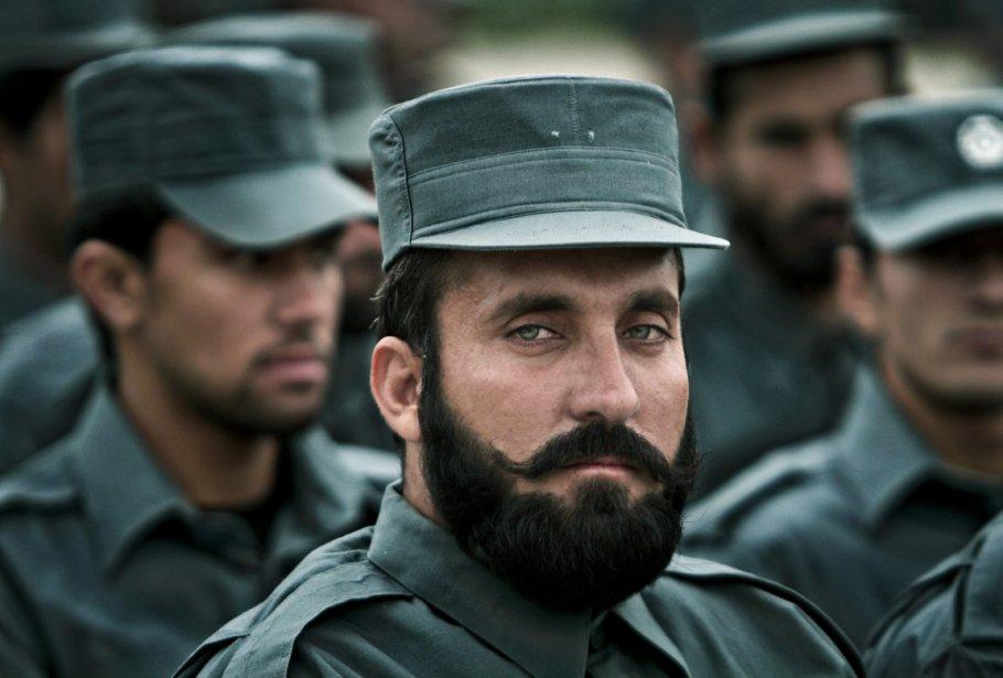 Collation des grades pour les recrues de la police nationale afghane. | 7 janvier 2013