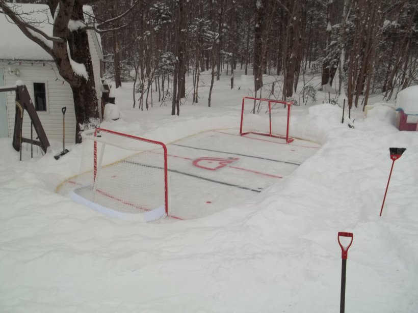 La patinoire de Roger Gendron, à Québec | 7 janvier 2013