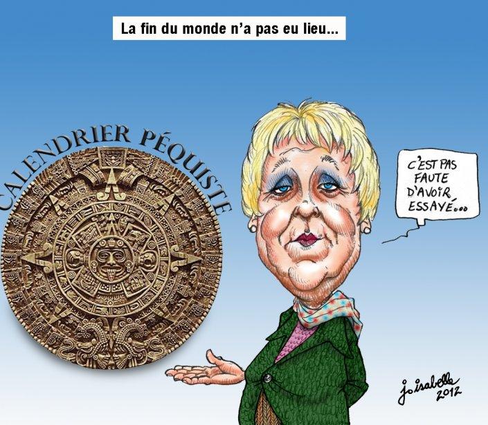 Caricature du 22 décembre | 7 janvier 2013