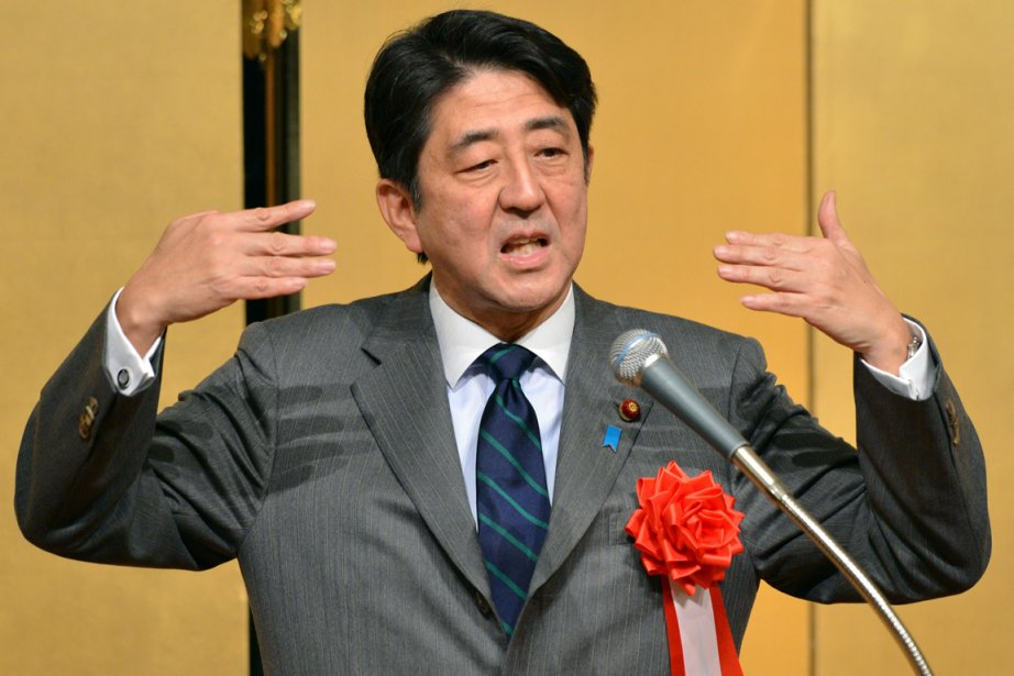 Le premier ministre du Japon, Shinzo Abe.... (Photo: AFP)
