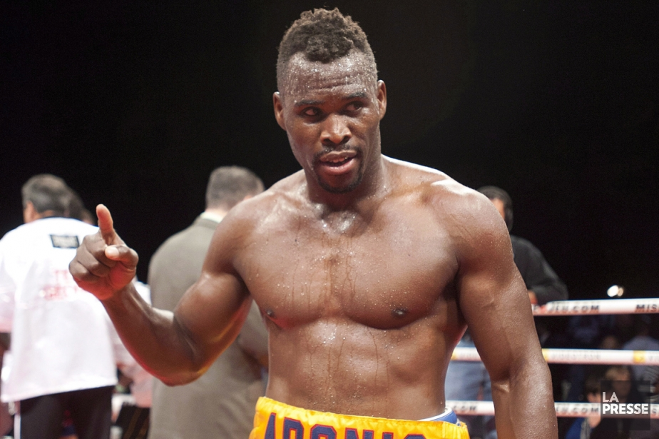 Adonis Stevenson tenait à affronter Darnell Boone, qui... (Photo: PC)