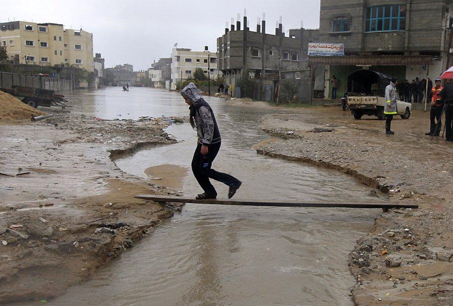 Le camp de réfugiés de Rafah dans la bande de Gaza | 9 janvier 2013