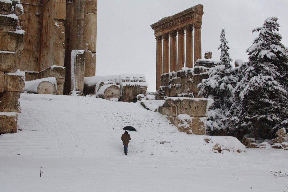 Le temple de Bachus dans la vallée de Bekaa au Liban | 9 janvier 2013