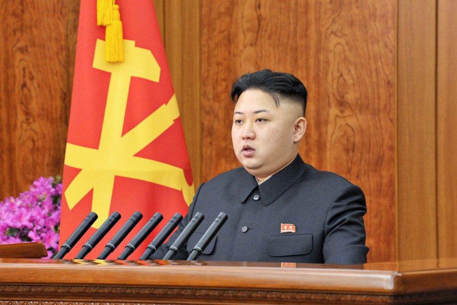 Kim Jong-un a haussé d'un cran le ton... (PHOTO REUTERS/KCNA)