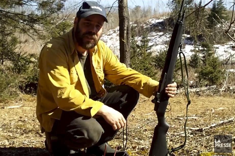 Entre deux coups de feu, ce Freeman canadien... (PHOTO TIRÉE DE YOUTUBE)