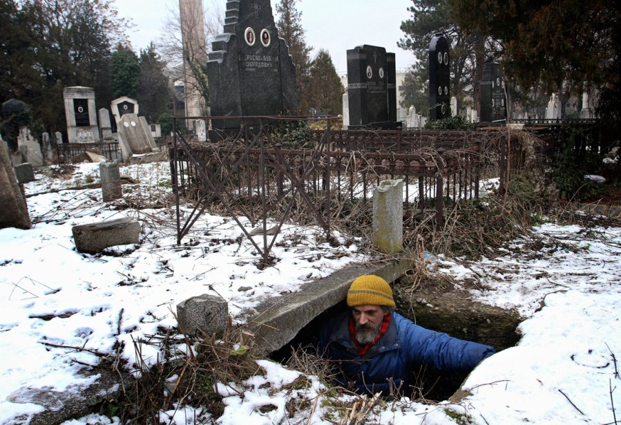 Bratislav Jovanovic, 43 ans, un sans-abri de Nis en Serbie... | 2013-01-11 00:00:00.000