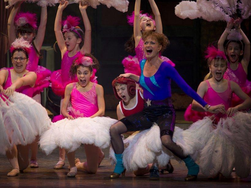 Représentation de la comédie musicale Billy Elliot à Montréal. | 11 janvier 2013
