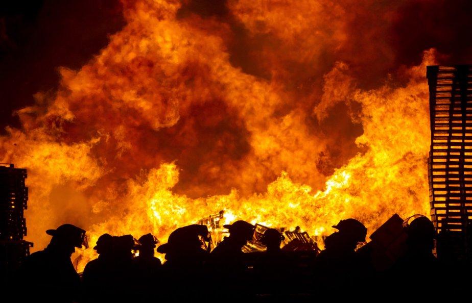 Incendie dans une usine en Indiana | 11 janvier 2013