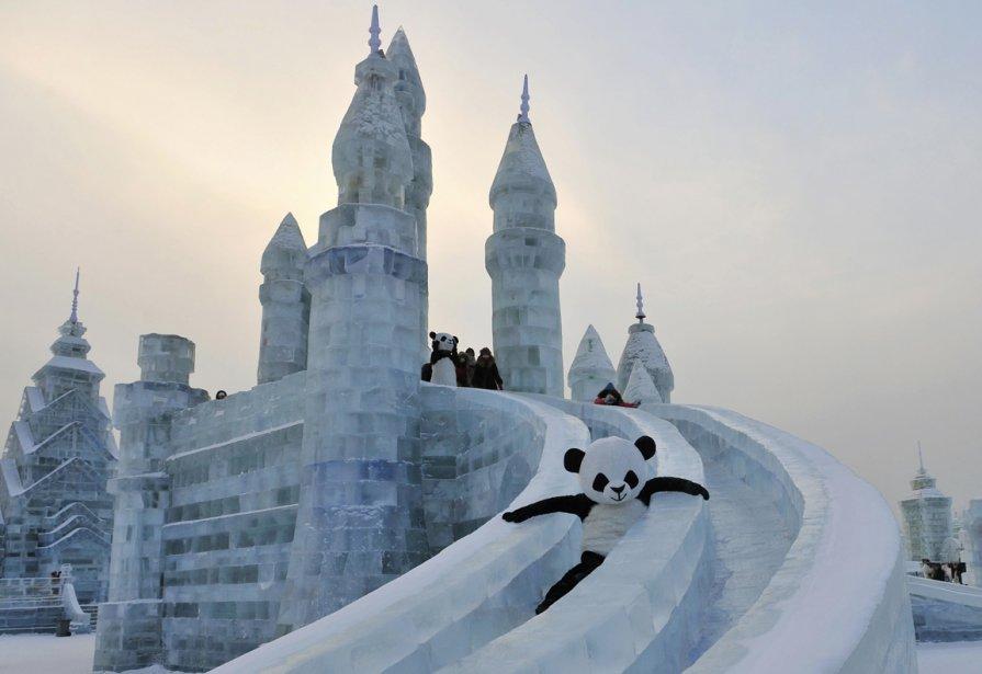 Le festival des glaces de Harbin en Chine. | 11 janvier 2013