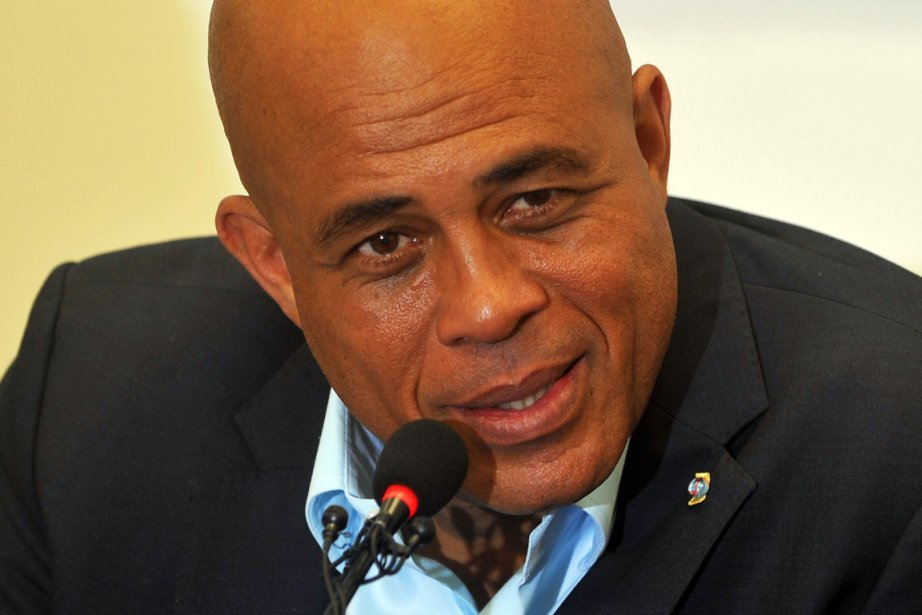 Michel Martelly... (Photo : Thony Belizaire, AFP)