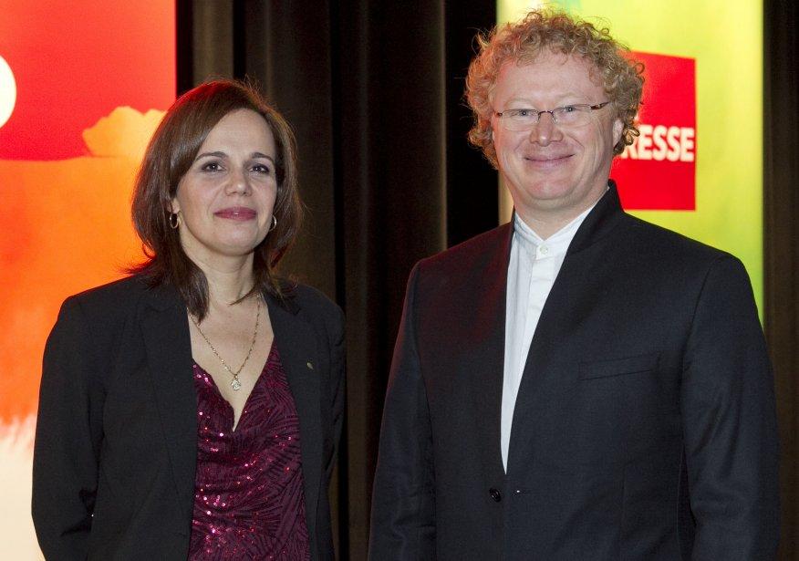 Nancy Dumais et Brendan Bell, lauréats dans la catégorie Sciences. | 14 janvier 2013