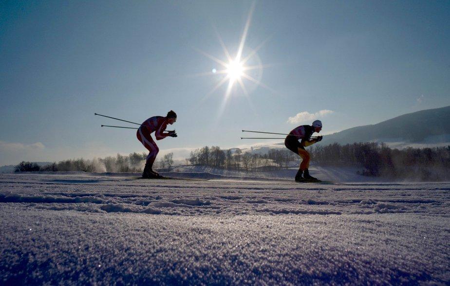 Des participants à la Coupe du monde de ski de fond à Liberec, en République tchèque. | 14 janvier 2013
