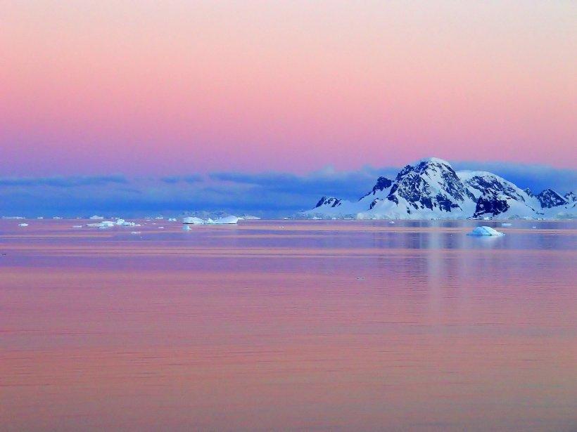 Le Cercle polaire antarctique. | 14 janvier 2013