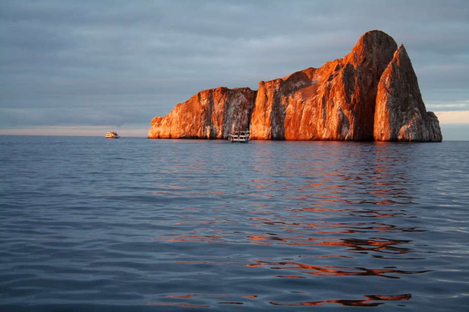 Les îles Galapagos en Equateur.... (Photo archives)