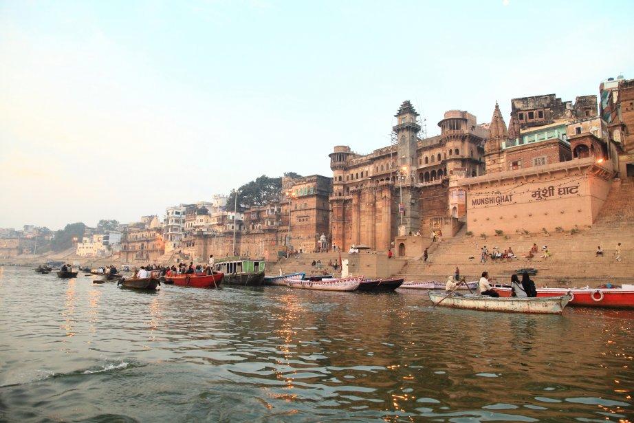 Le Gange en Inde. | 14 janvier 2013