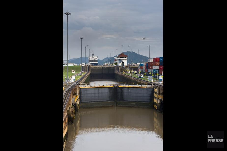 Le canal de Panama. | 14 janvier 2013