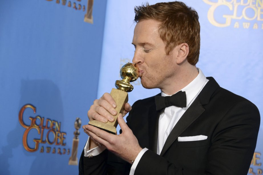 Après avoir triomphé au gala des prix Emmy en septembre dernier, l'équipe de «Homeland» a remis ça à la cérémonie des Golden Globes: Claire Danes et Damian Lewis (notre photo) ont remporté les prix d'interprétation, tandis que la série a été couronnée meilleure télésérie dramatique. | 14 janvier 2013