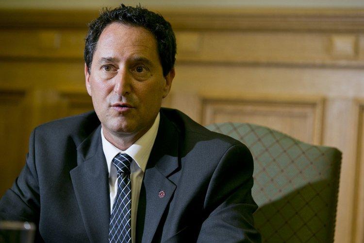 Le maire intérimaire de Montréal assure ne pas... (Photo: Hugo Sébastien Aubert, La Presse)