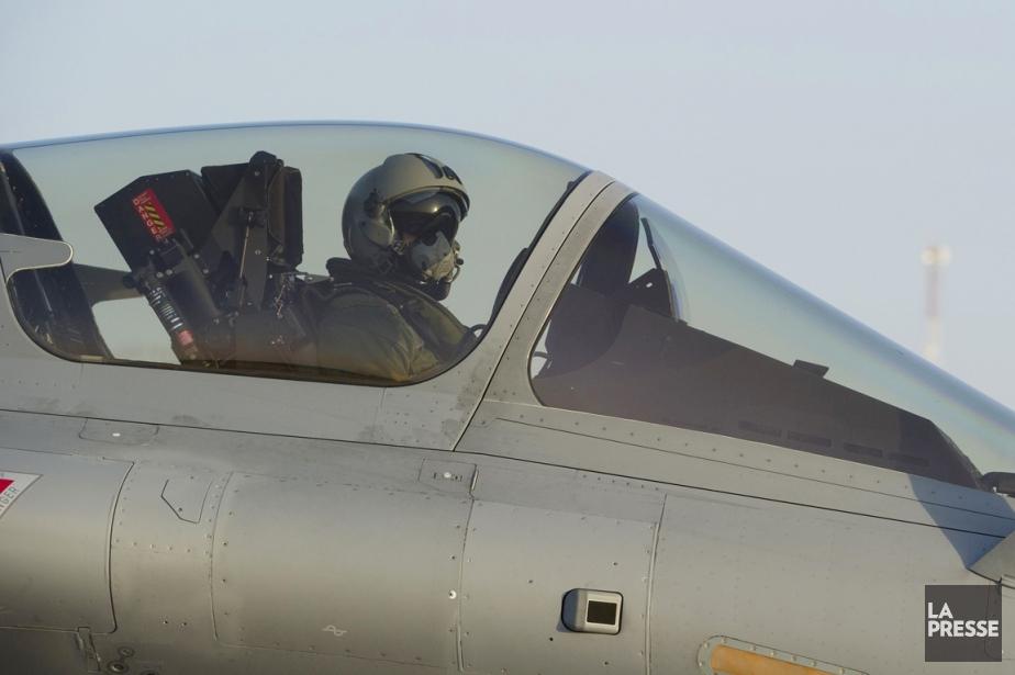 L'aviation française a bombardé dans la nuit de... (PHOTO NICOLAS-NELSON RICHARD, AFP)