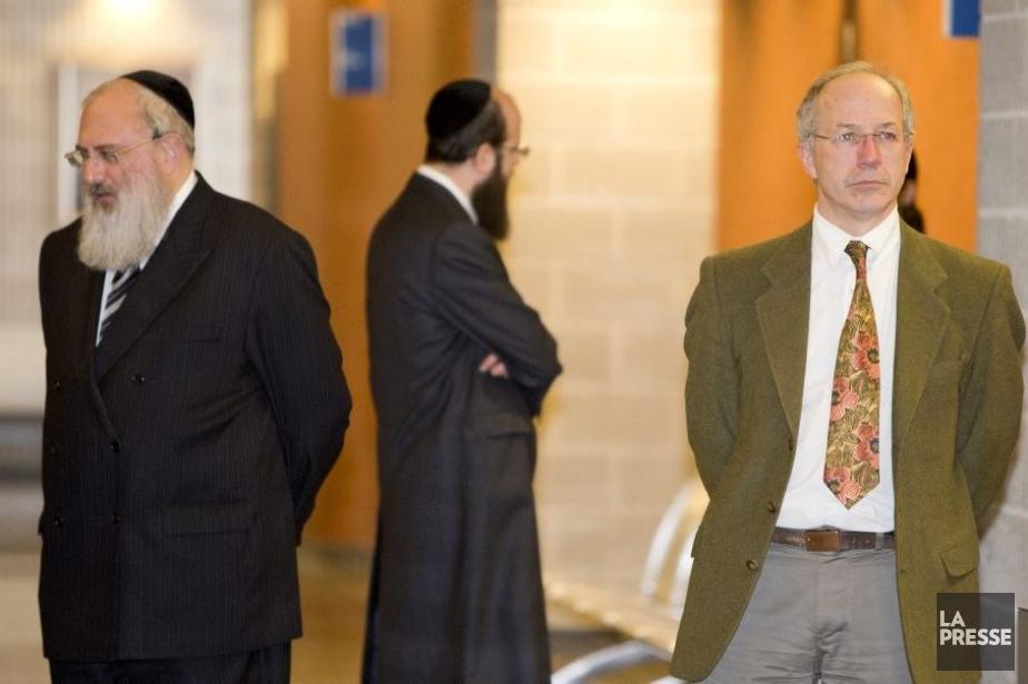 Michael Rosenberg (à gauche) et Pierre Lacerte (à... (Photo Alain Roberge, La Presse)