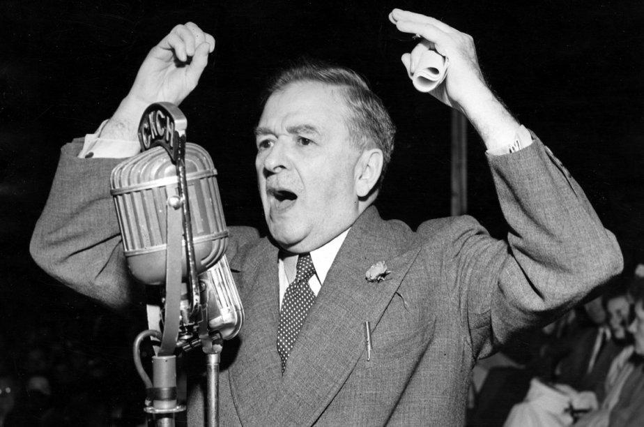 MauriceDuplessis en 1952.... (Photo archives La Presse)