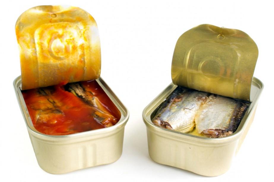 Les sardines en boîte fêtent leurs 200 ans et les... (PHOTO PHOTOS.COM)
