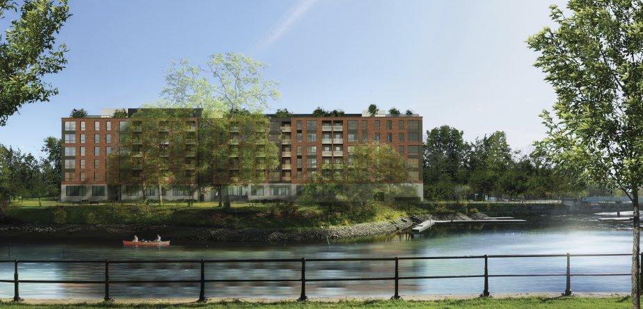 Walter sur Atwater sera construit en bordure du canal de... | 2013-01-15 00:00:00.000