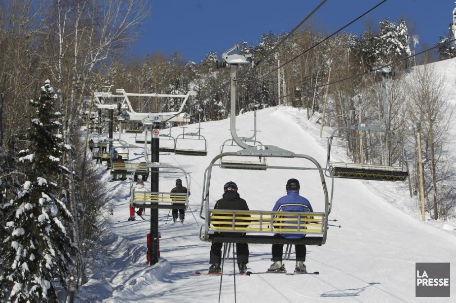 Station de ski Val Saint-Côme. (Photo: Martin Chamberland, La Presse)