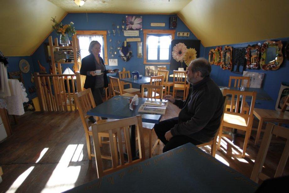 Le café Au plaisir des sens. (Photo: Martin Chamberland, La Presse)