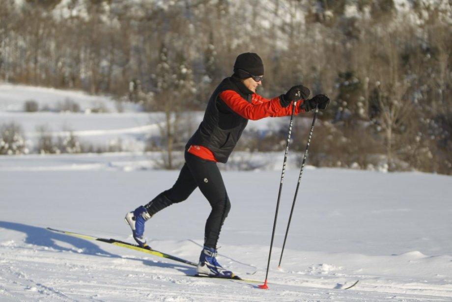 Centre de ski de fond de la Montagne coupé (Photo: Martin Chamberland, La Presse)