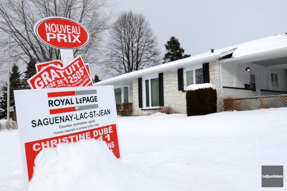 Une maison à vendre.... (Photo Rocket Lavoie, Archives Le Quotidien)