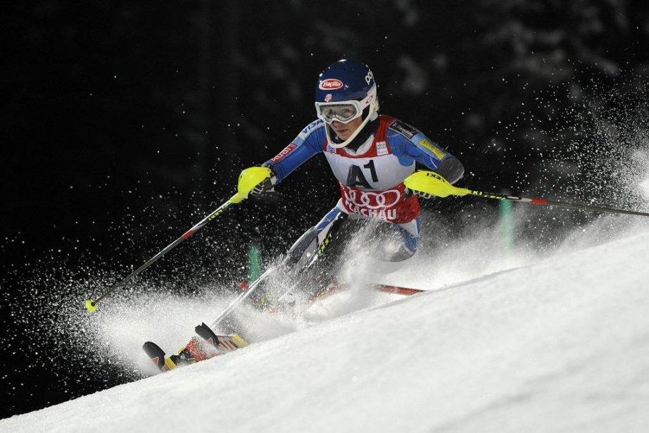 Mikaela Shiffrin... (Photo Agence France-Presse)