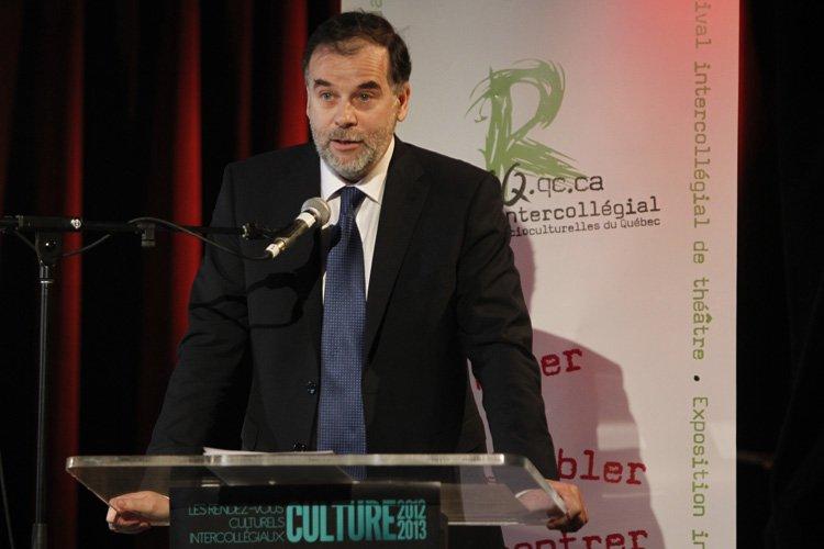 Le ministre de l'Enseignement supérieur, Pierre Duchesne, s'est... (Photo: Martin Chamberland, La Presse)
