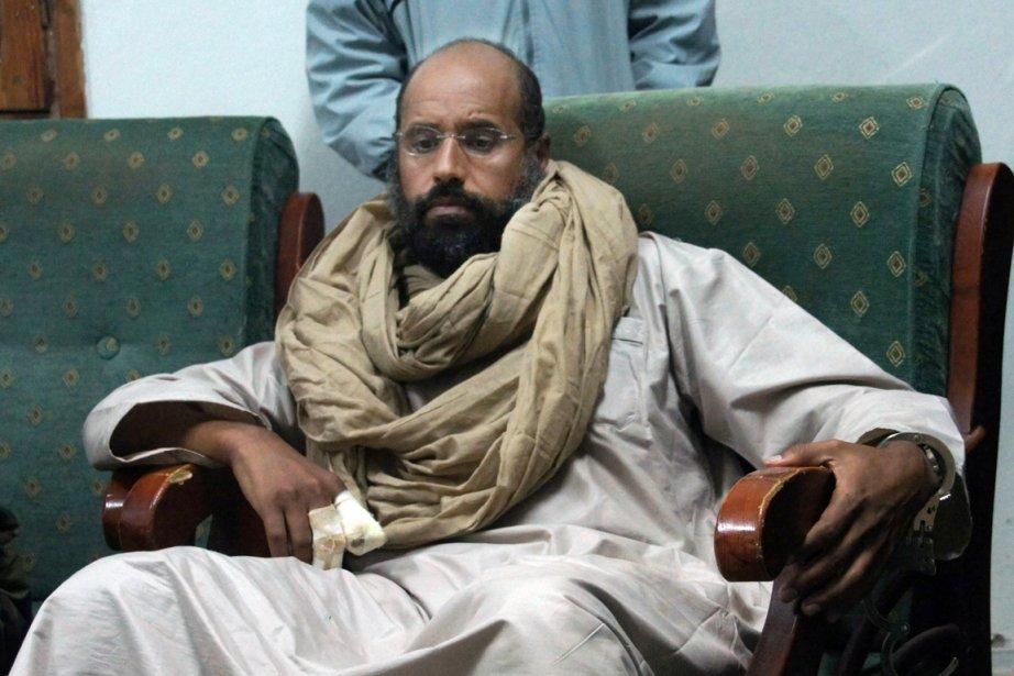 Saïf al-Islam est détenu à Zenten, à 170km... (PHOTO AMMAR El-DARWISH, ARCHIVES AP)
