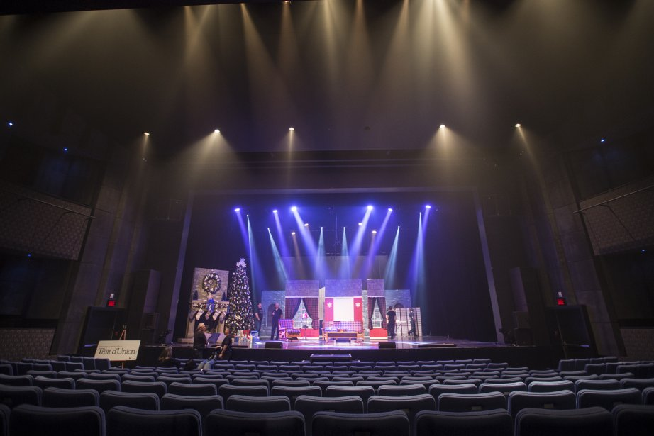 Le Théâtre du Vieux-Terrebonne. (Photo: Olivier Pontbriand, La Presse)
